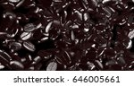 the 3d rendering of fresh... | Shutterstock . vector #646005661