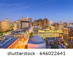 baltimore  maryland  usa... | Shutterstock . vector #646022641