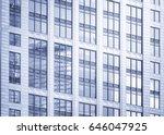 modern office buildings in... | Shutterstock . vector #646047925