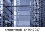 modern office buildings in... | Shutterstock . vector #646047967