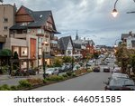 street and architecture of... | Shutterstock . vector #646051585