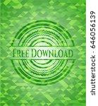 free download green emblem....