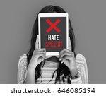 Small photo of Hatred Rage Animosity Negative Hate Speech