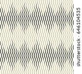 seamless wave wallpaper.... | Shutterstock .eps vector #646104535