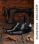 cobbler workshop | Shutterstock . vector #646113439