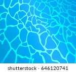 stylized water in the pool.... | Shutterstock .eps vector #646120741
