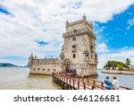 lisbon  portugal   june 4  2016 ... | Shutterstock . vector #646126681
