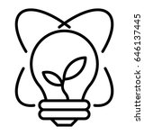 growth line vector icon | Shutterstock .eps vector #646137445