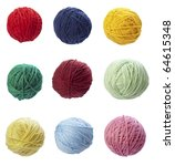 Collection Of Wool Knitting On...