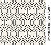 vector seamless pattern. modern ... | Shutterstock .eps vector #646172854