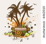 abstract hawaiian pattern for... | Shutterstock .eps vector #6462010