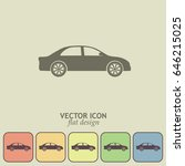 car icon | Shutterstock .eps vector #646215025