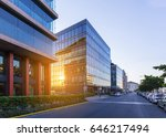 street in budapest with modern... | Shutterstock . vector #646217494