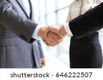 business handshake | Shutterstock . vector #646222507