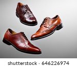 fashion classical polished men... | Shutterstock . vector #646226974
