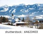 Village Ofterschwang In The...