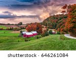 Rural Autumn Jenne Farm In...