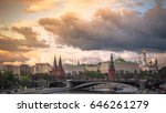 view of moscow kremlin and... | Shutterstock . vector #646261279