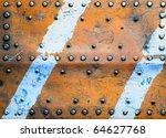 Grunge Metal Background. Rusty...