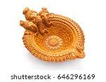 a beautiful handmade designer...   Shutterstock . vector #646296169