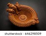 a beautiful handmade designer...   Shutterstock . vector #646298509