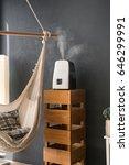 humidifier in the modern...   Shutterstock . vector #646299991
