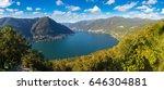 Panoramic Aerial View Of Lake...