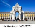 lisbon  portugal.  january 11 ...   Shutterstock . vector #646322701