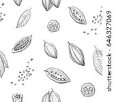 Vector Pattern Hand Drawing Of...