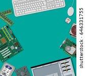 motherboard  hard drive  cpu ...