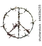 peace | Shutterstock . vector #646336255