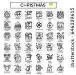 christmas icon vector...