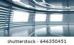 abstract futuristic interior...   Shutterstock . vector #646350451