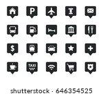 vector navigation  direction ... | Shutterstock .eps vector #646354525