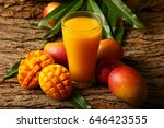 Food Abstract Background Mango...