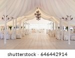 marquee for the celebration of... | Shutterstock . vector #646442914