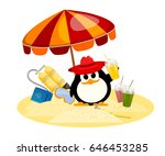 cartoon color image of a small... | Shutterstock .eps vector #646453285