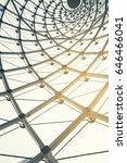 building construction of metal... | Shutterstock . vector #646466041