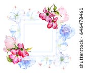 Wildflower Dogwood Flower Frame ...