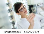 health care  eyesight and... | Shutterstock . vector #646479475
