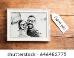fathers day concept. picture... | Shutterstock . vector #646482775