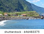 atlantic ocean coastline... | Shutterstock . vector #646483375