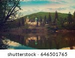 northern front of lillafured... | Shutterstock . vector #646501765