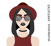 vector illustration with... | Shutterstock .eps vector #646516765