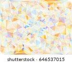 vector illustration. abstract... | Shutterstock .eps vector #646537015
