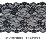 Black Lace With Pattern In The...