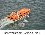 A Tender Boat   Life Boat From...