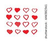vector art illustration of... | Shutterstock .eps vector #646582561
