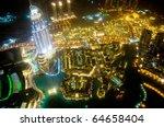 Panorama Of Down Town Dubai...