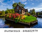 House With Beautiful Flowers O...